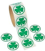 Pack of 100 - St Patricks Day Stickers