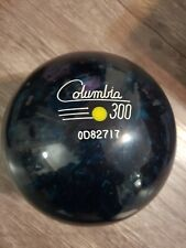Vintage Undrilled Columbia 300 Yellow Dot ABC Masters 11lbs 7 oz Bowling Ball