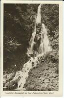 Ansichtskarte Trusetaler Wasserfall / Bad Liebenstein / Thüringer Wald - s/w