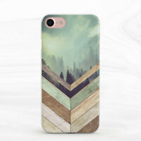 Forest Geometry Wood Nature Soft Case For iPhone 6S 7 8 Xs XR 11 Pro Plus Max SE