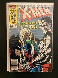 The Uncanny X-Men 210 Newstand Variant High Grade Marvel Comic Book CL92-123
