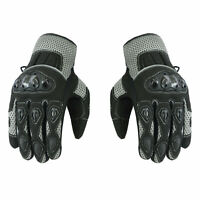 New Motorbike Motorcycle Summer Gloves Knuckle Protection Sports Gloves Armored