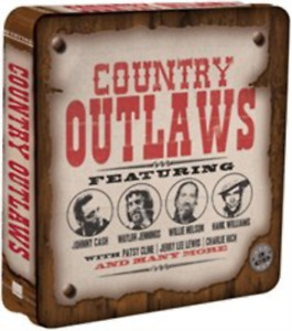 Various Artists-Country Outlaws (US IMPORT) CD (Tin Case) NEW