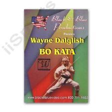 Bo Staff Kata Techniques Wayne Dalglish Dvd tournament demos karate form jo New!