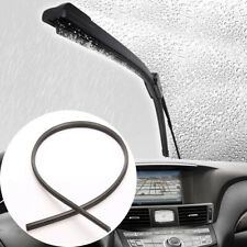 1x 26'' 6mm Rubber Frameless Car Windshield Wiper Blade Refill Strips Accessory