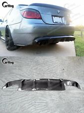 CARKING 04-09 CARBON FIBER BMW E60 M5 ADD ON REAR DIFFUSER SPOILER