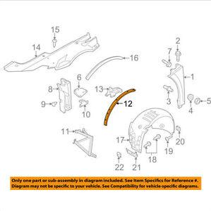 AUDI OEM 08-12 R8 Fender-Mount Bracket Right 420805358C