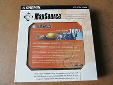 NEW Garmin MapSource United States Topo CDs V3.02 + Trip & waypoint Management