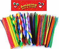 Pipe Cleaners Chenille Stems 250 x 30cm Assorted styles and colours