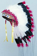 SIOUX WARBONNET HEADDRESS KIT REGALIA POW WOW RENDEZVOUS TRIBAL CRAFTS KITS