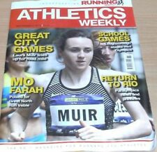 September Athletics Weekly Sports Magazines in English