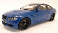 Kyosho 1/18 Scale Diecast  - 08734LBL BMW M3 E92 Laguna Seca Blue Model Car