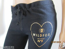 Wildfox Couture LOVE POTION 9 Jogger Sweatpants Black Size S ~NWT~