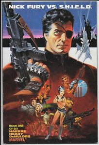 Marvel Comics - Nick Fury Vs S.H.IE.L.D. - Book 1 of 6 1st June 1988