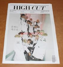 HIGH CUT VOL.208 SEVENTEEN EPIK HIGH KOREA MAGAZINE TABLOID NEW