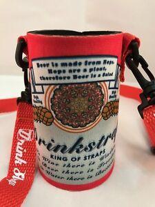 Koozie Holder Necklace Drinkstrap Beer Soda Can Bottle Cooler New King of Straps