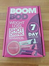 Boom Bod Weight Loss Shot Drink Blackcurrant - 7 Day Pack