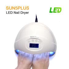 SUN 5 PLUS 48W LED Luce Lampada UV Nail Dryer ART curare GEL Gelish TIMER SCHERMO LCD