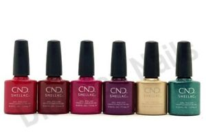 CND Shellac UV Gel Polish .25 oz - COCKTAIL COUTURE COLLECTION 2020 NEW!