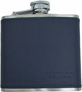 $40 The Men's Store at Bloomingdale's Leather covered Blue flask