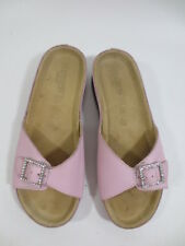 ec0787ae294b40 Comfort Pantolette Sandale NEWDRESS Hausschuhe 38 Echt Leder rosa Strass 53