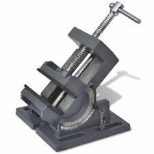 vidaXL Bankschroef Kantelbaar Handmatig 110 mm Klem Bankklem Schroefklem