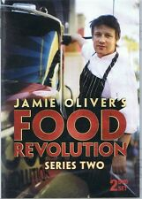 JAMIE OLIVER'S FOOD REVOLUTION Series Two (2 x DVD Set) NEW & SEALED Free Post