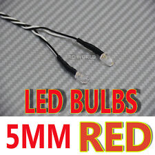 RC LED BULBS Pair On One Line 5mm RED