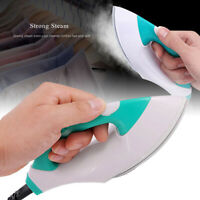 1* Portable Electric Iron Steam Mini Travel Irons Nonstick Sole Plate EU/US Plug