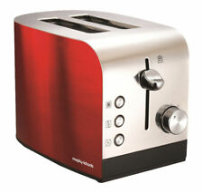 Morphy Richards 44206 Red Accents 2 Slice Toaster
