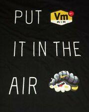 New Nike Vm Air Black Yellow Shirt Mens Xlarge $35.00 Ao8045 010