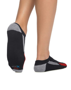 Hanes Men's Socks 4-Pack X-Temp Arch Support Liner FreshIQ Comfort Toe Sz 10-13