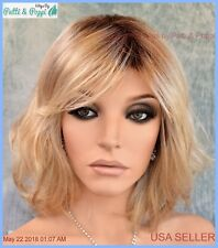 Stop Traffic Raquel Welch Wig Lace Front Mono Crown SS1488 Golden Wheat