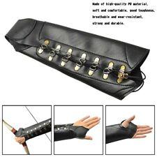 New listing Archery Arm Guard Leather Hand Glove Protector Gear Longbow RecurveBow YU