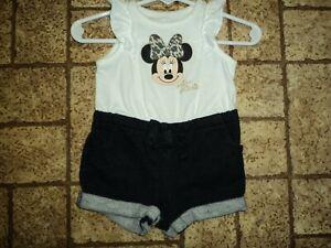 Disney Baby Miss Minnie One Piece Outfit. Sz. 3 Mos.