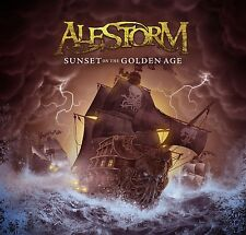 ALESTORM - SUNSET ON THE GOLDEN AGE  CD NEW+