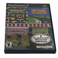 Namco Museum (Sony PlayStation 2, 2001) Case & Disc