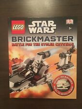LEGO Star Wars Brickmaster Battle for the Stolen Crystals Read Build Play New
