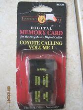 Johnny Stewart card Preymaster digital caller Coyote Calling volume I MC-CY1
