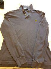Mens Ralph Lauren Polo Shirt à Manches Longues Taille M entièrement neuf sans étiquette