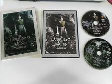 EL LABERINTO DEL FAUNO 2 X DVD GUILLERMO DEL TORO EDICION ESPECIAL