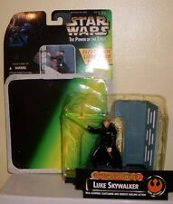 Star Wars Electronic Power FX Luke with Glowing Lightsaber Excellent Cond
