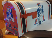 NEW ENGLAND PATRiOTS THROW BACK  CUSTOM MAiLBOX~jersey hats