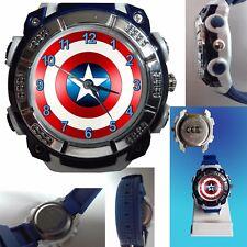 orologio CAPITAIN AMERICA nuovo per bambino children watch woman ragazzo