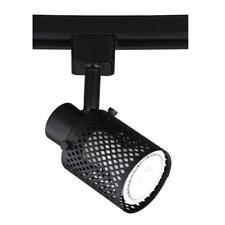 LED Black with Mesh Design Track Light Head