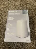 Linksys Velop VLP0101-NP Dual Band AC1200 Mesh WiFi System, White, Brand New