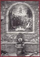 CASERTA ROCCAMONFINA 02 SANTUARIO dei LATTANI Cartolina FOTOGRAFICA viagg. 1964