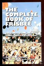 The Complete Book Of Frisbee By: Victor Malafronte Autographed By Author