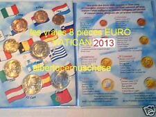 2013 8 monete fdc 3,88 EURO VATICANO UNC Vatican Vatikan Benedetto XVI Benoit