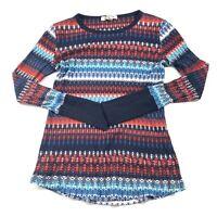 Orvis Women's Long Sleeve Lightweight Sweater Shirt Size Medium